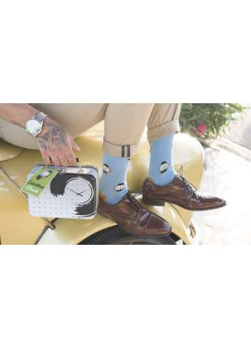 CALCETINES ESTAMPADO CLOCK