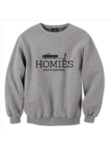SUDADERA HOMIES SOUTH CENTRAL GRIS