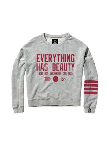 SUDADERA ENZO COUTURE BEAUTY GRIS