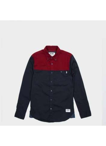CAMISA WRUNG EDGE NAVY SHIRT