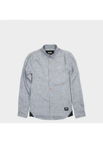 CAMISA WRUNG HATCH LIGHT GREY SHIRT