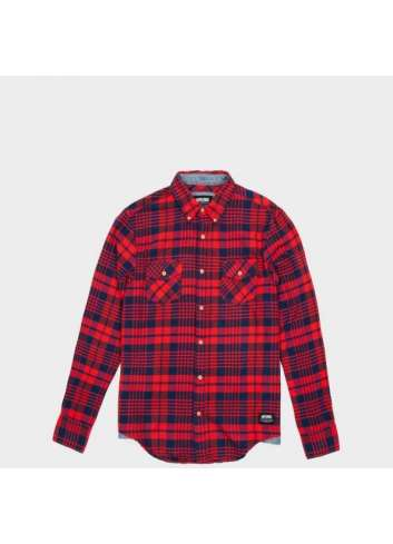 CAMISA WRUNG LINCOLN RED SHIRT
