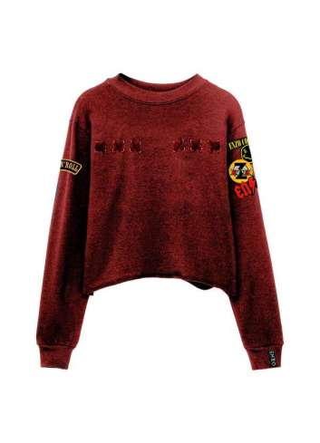 SUDADERA ENZO COUTURE RED ROCK