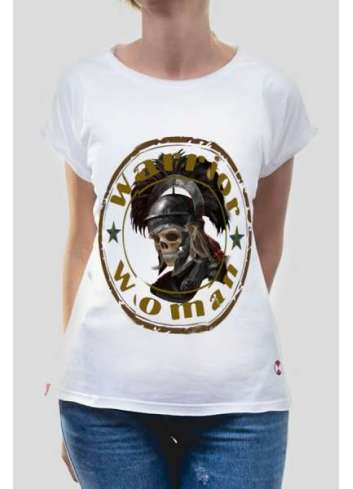CAMISETA LA SAL WANTED WARRIOR BLANCO