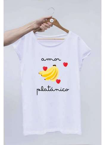 CAMISETA OFFSETCOLLAGE AMOR PLATONICO