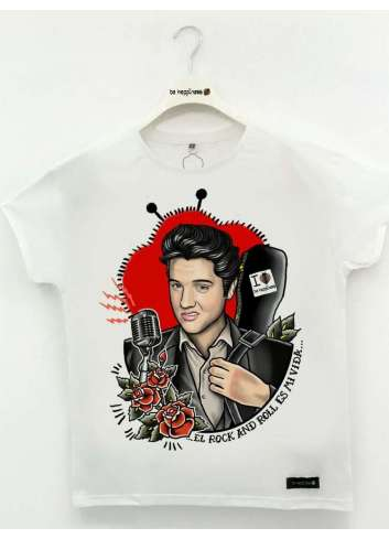 CAMISETA BE HAPPINESS ELVIS PRESLEY