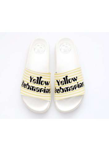 CHANCLAS OFFSETCOLLAGE YELLOW SUBMARINE