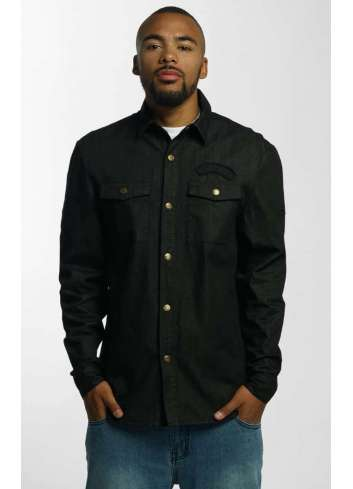 CAMISA ECKO UNLTD DENIM SHIRT BLACK