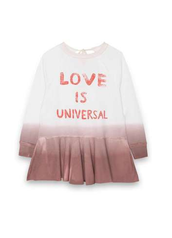 VESTIDO DEAR TEE LOVE WHITE DEGRADE