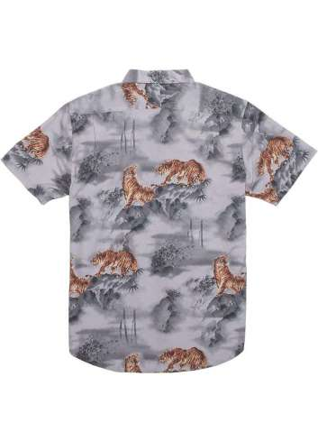 CAMISA VISSLA MISTY MOUNTAIN STEEL