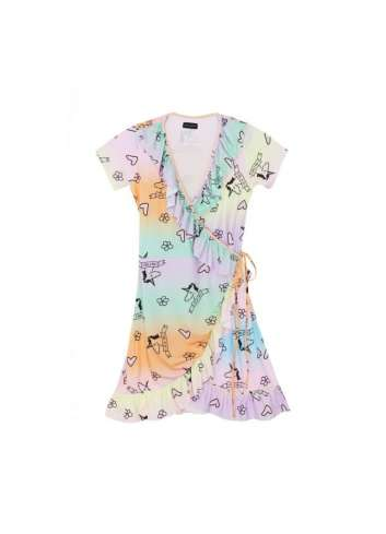 VESTIDO KEEP TRENDY UNICORNIO VOLANTES