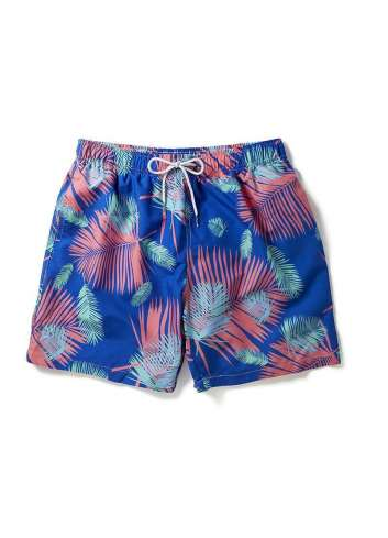 BAÑADOR BOARDIES TROPICANO BLUE SWIM SHORTS