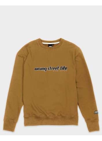 SUDADERA WRUNG STREET LIFE CARAMEL SWEATER