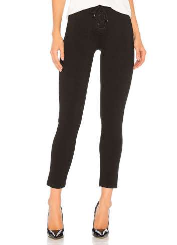 PANTALON AMUSE SOCIETY MIDDLE OF THE ROAD BLACK