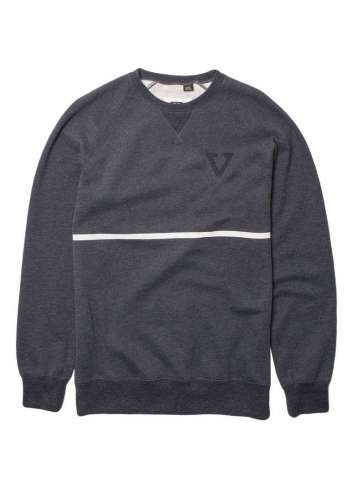 SUDADERA VISSLA SOOKE BAY DARK NAVY HEATHER