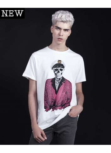 CAMISETA LE CRANE CLOTHING HEFNER T-SHIRT