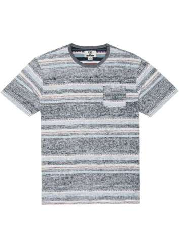 CAMISETA VISSLA SHOCKWAVE SS POCKET KNIT DARK NAVAL