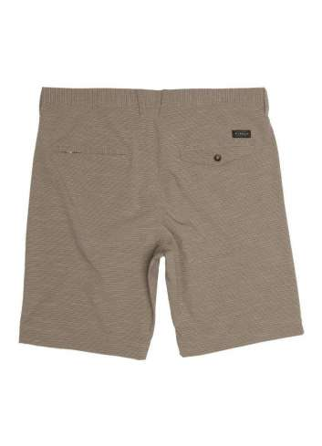 SHORT VISSLA STRIPE ROPE 2.0 HYBRID WALKSHORT WALNUT