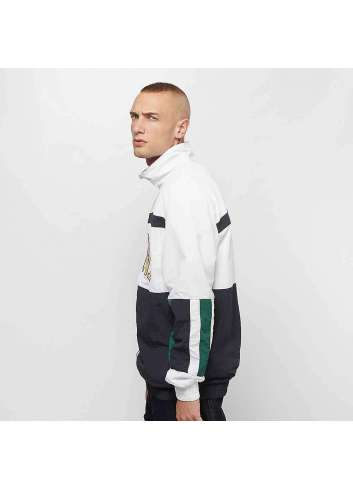 CHAQUETA KARL KANI COLLEGE BLOCK TRACKJACKET WHITE NAVY